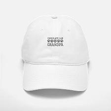 Chocolate Lab Grandpa Baseball Baseball Baseball Cap