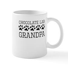 Chocolate Lab Grandpa Mugs