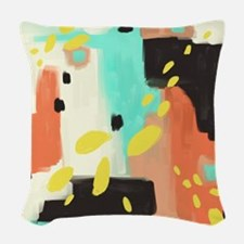 118451660 Wait For More Woven Throw Pillow
