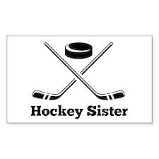 Hockey Sister Decal