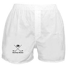 Hockey Sister Boxer Shorts