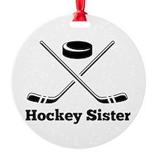Hockey Sister Ornament
