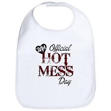 2-14 Official Hot Mess Day Bib