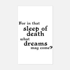 What Dreams May Come? Rectangle Decal