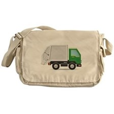 Garbage Truck Messenger Bag