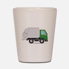 Garbage Truck Shot Glass