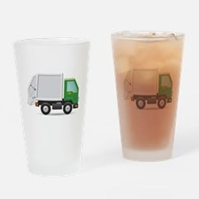 Garbage Truck Drinking Glass