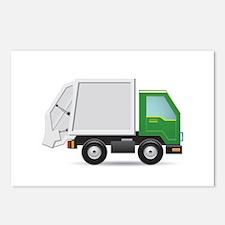 Garbage Truck Postcards (Package of 8)