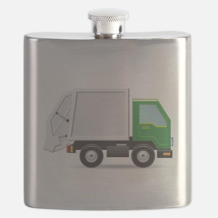 Garbage Truck Flask