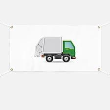Garbage Truck Banner