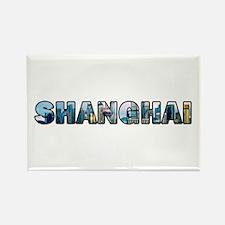 Shanghai China Skyline Magnets