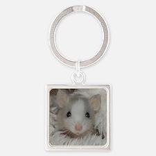 Unique Rats Square Keychain