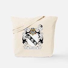 Blanton Coat of Arms Tote Bag