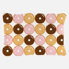 Frosted Donut Pattern Pillow Case