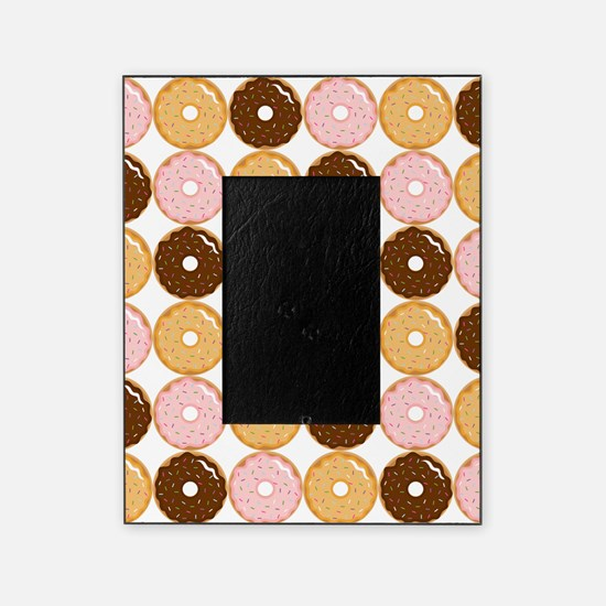 Frosted Donut Pattern Picture Frame