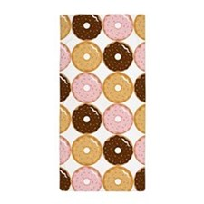 Frosted Donut Pattern Beach Towel
