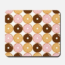 Frosted Donut Pattern Mousepad