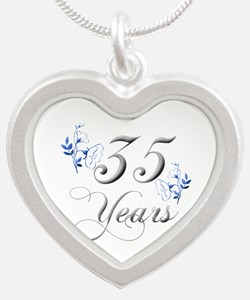 35th Wedding Anniversary Necklaces