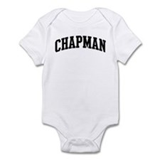 CHAPMAN (curve-black) Infant Bodysuit