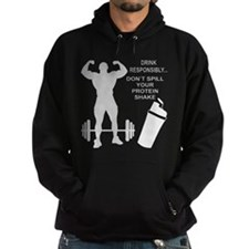 Don't Spill Your Protein Hoodie
