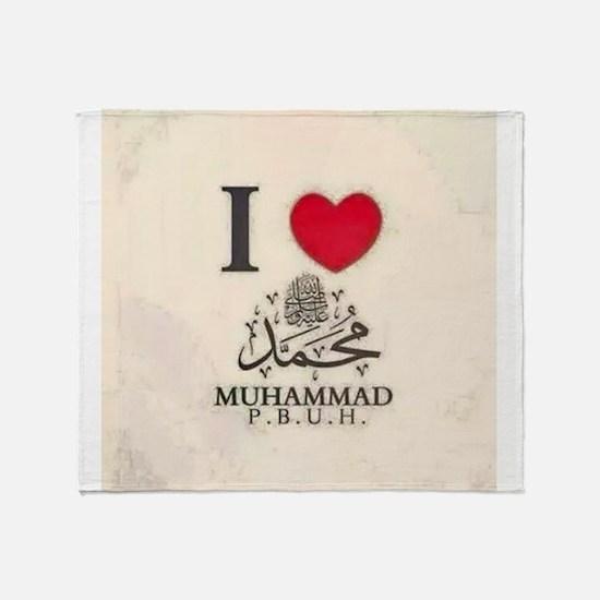 I love My Prophet Throw Blanket