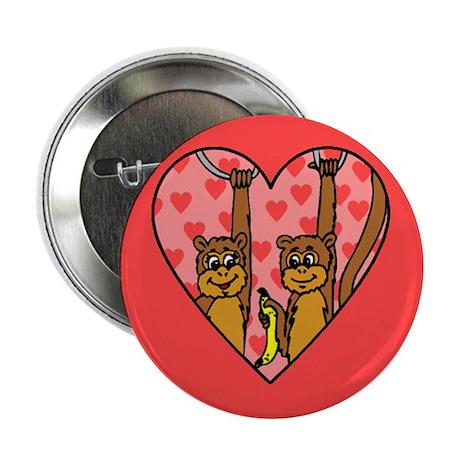 Monkey Love Button (10 pk)