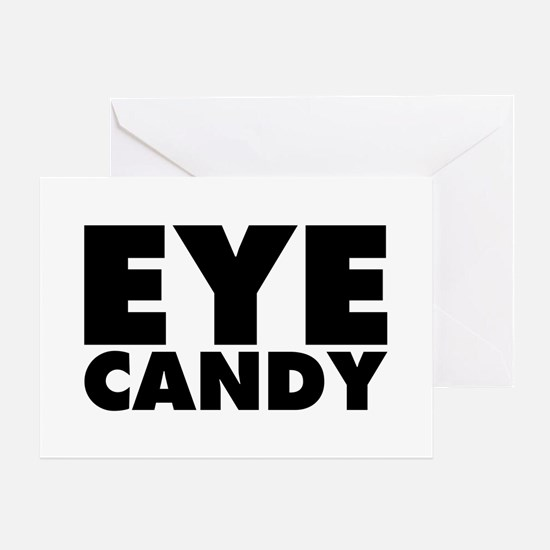 Eye Candy Greeting Card