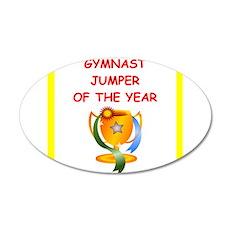 gymnast Wall Decal