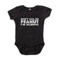 Don't Call Me Peanut Baby Bodysuit