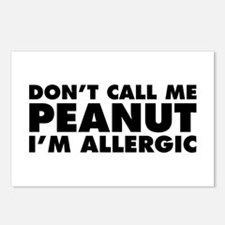 Don't Call Me Peanut Postcards (Package of 8)