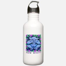 NOW WHAT.png Water Bottle