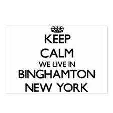 Keep calm we live in Bing Postcards (Package of 8)