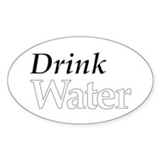 Drink Water Decal