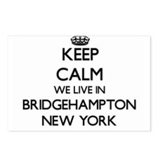 Keep calm we live in Brid Postcards (Package of 8)