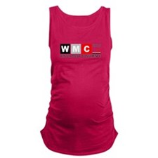 WMC 2015 Winter Music Conferenc Maternity Tank Top