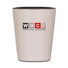 WMC 2015 Winter Music Conference Shot Glass