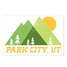 Cute Park city utah Postcards (Package of 8)