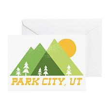 Unique Utah cities Greeting Card