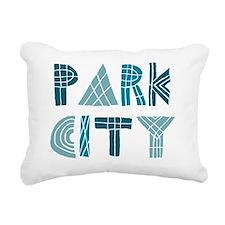 Cute Cities Rectangular Canvas Pillow