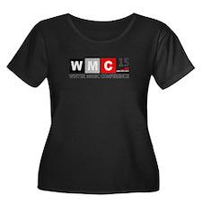 WMC 2015 Winter Music Conference Plus Size T-Shirt