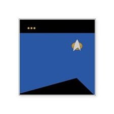 """STARTREK 2360 SCI CMDR Square Sticker 3"""" x 3"""""""