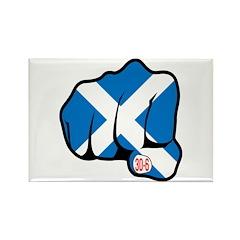 Scotland 30-6 Rectangle Magnet (10 pack)