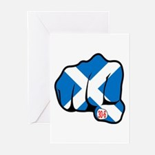Scotland 30-6 Greeting Cards (Pk of 10)