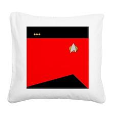 STARTREK 2360 CMD CMDR Square Canvas Pillow