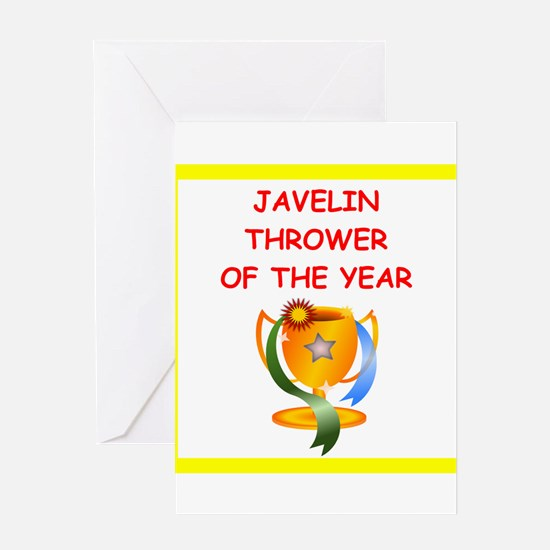 javelin Greeting Cards