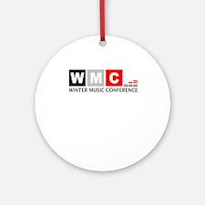 WMC Winter Music Conference Ornament (Round)