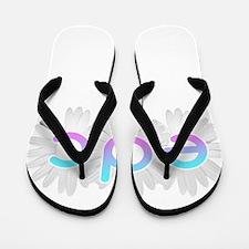 Electric Daisy Carnival Flip Flops