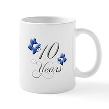 10th Wedding Anniversary Mugs