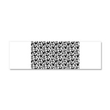 Funny Graphic cats Car Magnet 10 x 3