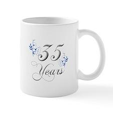 35th Wedding Anniversary Mugs